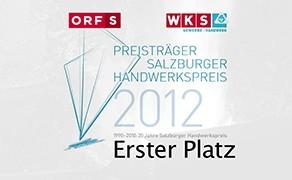 Salzburger Handwerkspreis Platz 1 ORFS/WKS