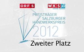 Salzburger Handwerkspreis Platz 2 ORFS/WKS