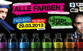 Alle Farben, Lützenkirchen & more @ Republic Salzburg – April 2013