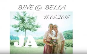 MARRYOKE Hochzeitsvideo BINE & BELLA – Auf Uns (Andreas Bourani)